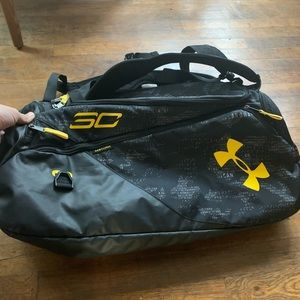 Under Armour SC30 Duffle Bag Backpack Steph Curry